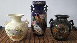 Guci/vas keramik Jepang motif