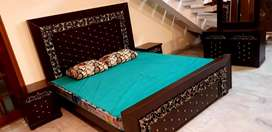 Fancy bed set, Sofa set,Dining table chair or pury ghar ka saman