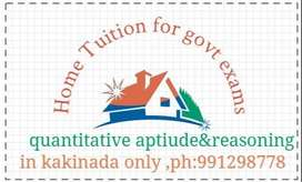 HOME TUITION FOR ALL GOVT EXAMS