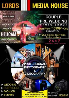 Wedding Photography, videography& Eventsts