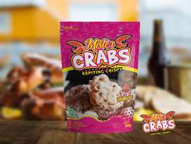 "Kepiting Crispy ""MR CRABS"""