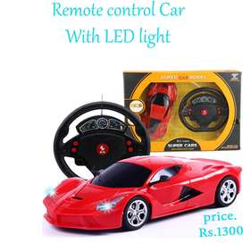 remote control car with LED light