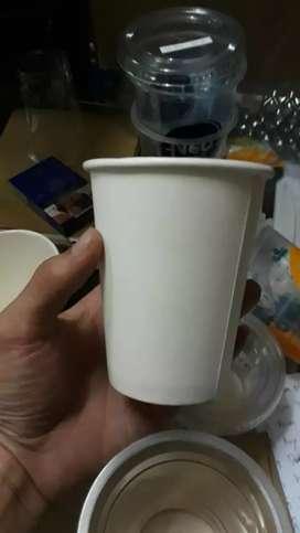 Diskon Murah CETAK LOGO (GELAS CUP KERTAS) 6.5oz