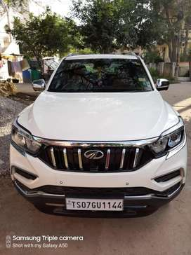 Mahindra Alturas G4 2019 4x4 Automatic - white - fancy number
