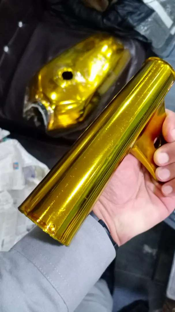 Gold plated tanki tapy 125