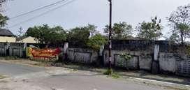 Djual tanah cepet BU di jalan damai palagan