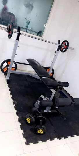 Gym equipments all available in stock