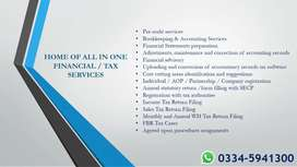HIRE SERVICES OF PROFESSIONAL ACCOUNTING AND TAX FIRM