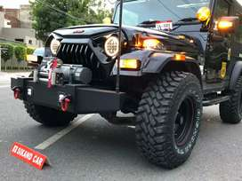 Modified Gypsy and modified Jeep and Mahindra Thar