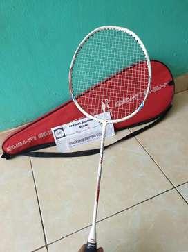 Raket Badminton Lining WindStorm 75 Mulus