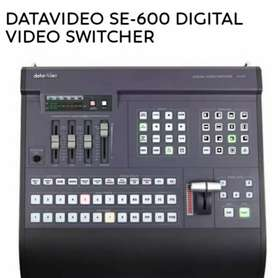 Di jual santuy Digital video Switcher SE600 boleh nego