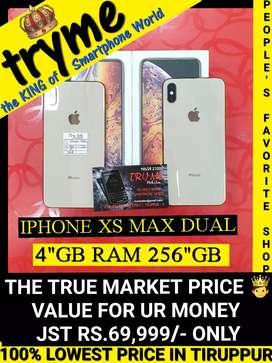 TRYME 256GB (XS MAX) IPHONE Dual Sim SLOT