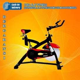 Alat olahraga spinning bike jls tl 8308 spinning TOTAL COD Mojokerto