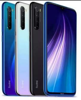 REDMI NOTE 8 4GB/64GB BOX PACK 1 YEAR  WARRANTY PTA APPROVED