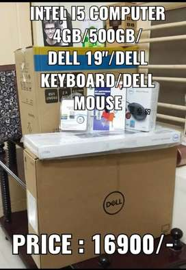 Intel i5 Dell Desktop Computer Full Set