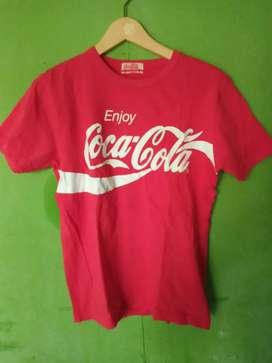 Kaos coba cola second