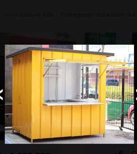 STAND BOOTH USAHA / BOOTH SEMI CONTAINER USAHA FRENCHISE