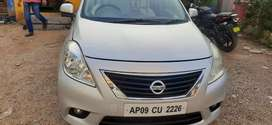 Nissan Sunny 2013 Diesel 60584 Km Driven push button super condition