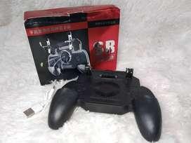 PROMO - PUBG FF Cooling Gamepad L1R1 Trigger Controller Game Pad Power