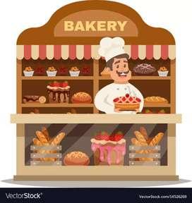 Bakery shop k shop liye karigar helper chahiye