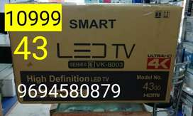 (43)/ smart wifivled tv smart box PACK