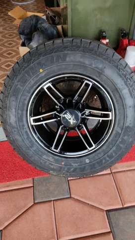 Bolero,thar,invader,invader,sumo etc vehicles using15 inch 4 ps alloys