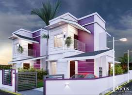 Excellent Investment Option In Palakkad   3BHK Villa @ Chandranagar