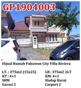 Dijual Rumah Pakuwon City Villa Riviera Ciamik Mewah