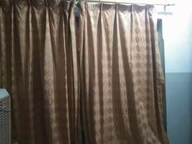 Light brown colour bnarsi curtain