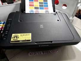 Canon Printer Tersedia Seri MG2570 Lengkap Infus Full Tinta Baru