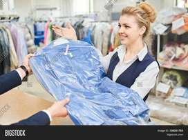 Need Laundry Assistant ( MALE or FEMALE)