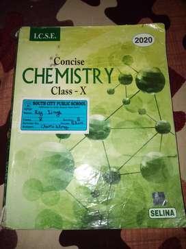 ICSE Class 10th Selina chemistry 2020