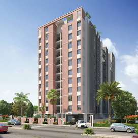 Ready, Luxury Flat, High Rise, 2 BHK Flat, Main Road