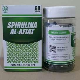 Suplemen imun kolesterol anti kanker spirulina