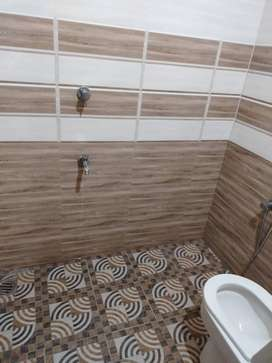2 bhk house with attached bathroom and a kitchen and one room occupied