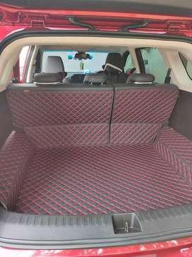 Karpet Lantai Wuling almaz 5 seater full bagasi Karpet kulit sintetis