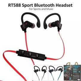 Headset Bluetooth Sport Holder Sepasang Baru