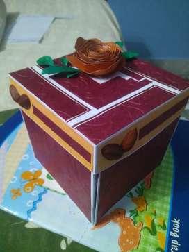 Explosion Box for Birthday