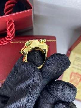 Turun Harga Cartier Panthere Ring Limited Edition