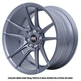 COCAH H595 HSR R17X75/9 H8X100-114,3 ET42/30 SMG