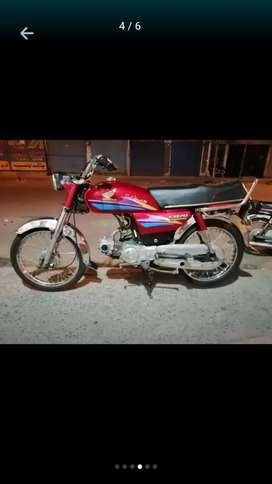 Honda CD 70 Motorcycle available for Sale