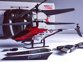 Helikopter remote control stabil dengan Gyro