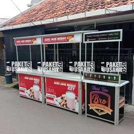 -Dijual Booth Portable / Meja Lipat / Booth Makan&Minum = kroket ham