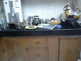 Fully furnished flat on rent near pari chowk