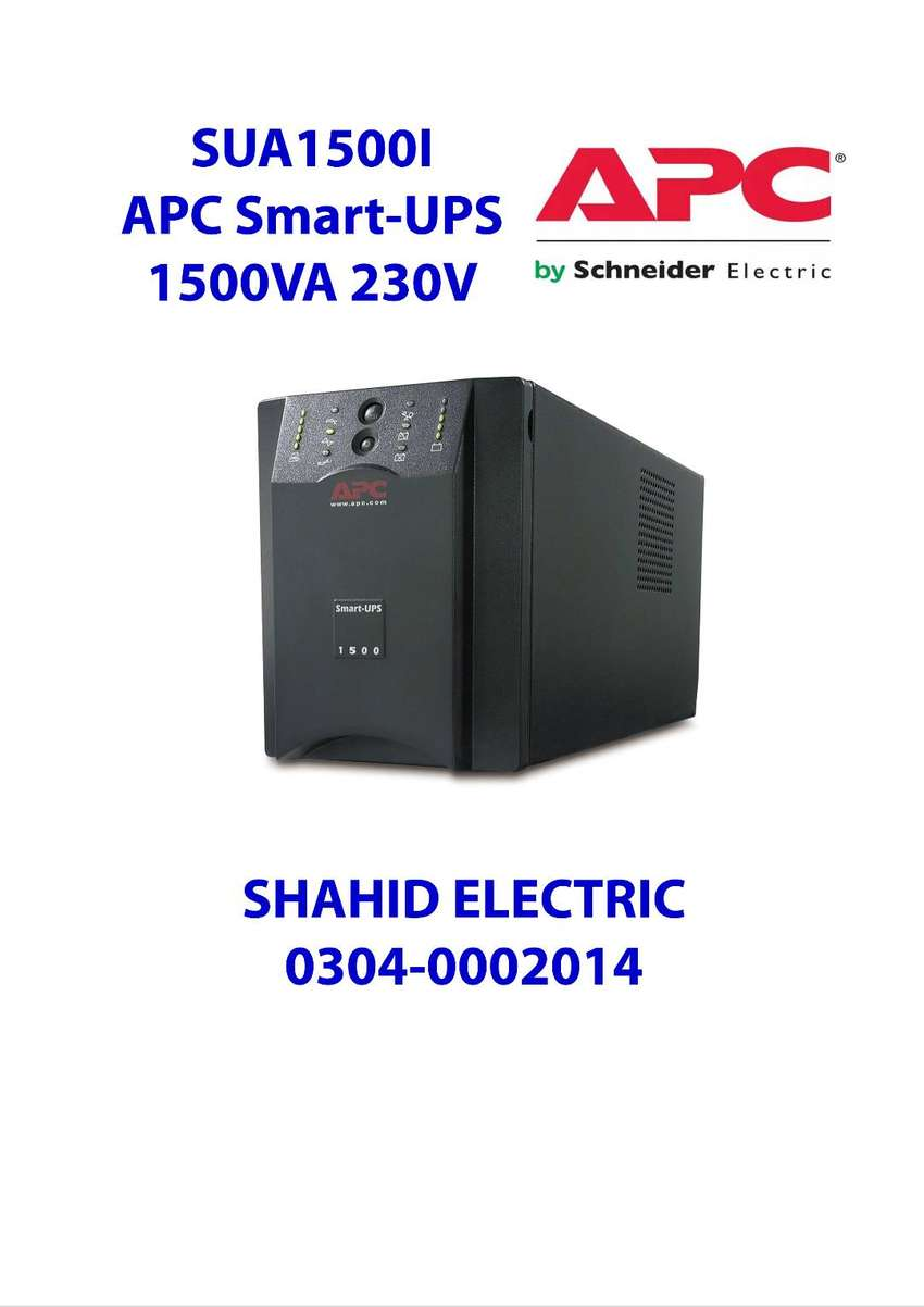 Search   SUA1500I - APC Smart-UPS 1500VA USB & Seri