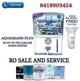 AQUAGRAND PLUS RO+UV+UF+TDS water Purifier & Ro Service