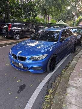 M235i Coupe Estoril Blue