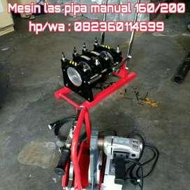 Distributor mesin pemanas pipa hdpe 160 manual
