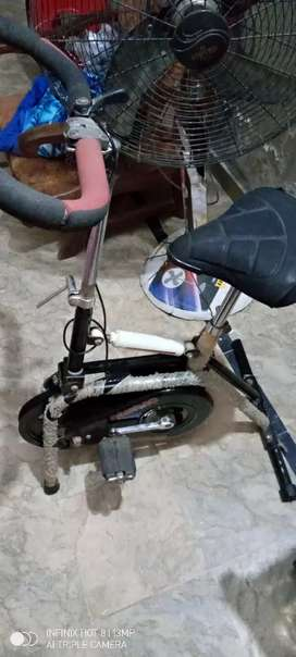 Exercise cycle old style genuine for sale