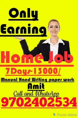 Good opportunity good Earning support family